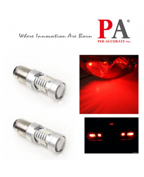 PA 2 x 1157 BAY15D Dual Color Switchback 28 LED 2835 SMD DRL Direction Light Bulb(Amber+White/Red)